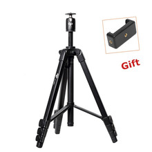 New Pro Aluminum 1.53M Tripod+Ball Head Camera Stand for SLR DSLR Digital Camera Gorillapod Tripode Max Load Weight 10KG BF668X(China)