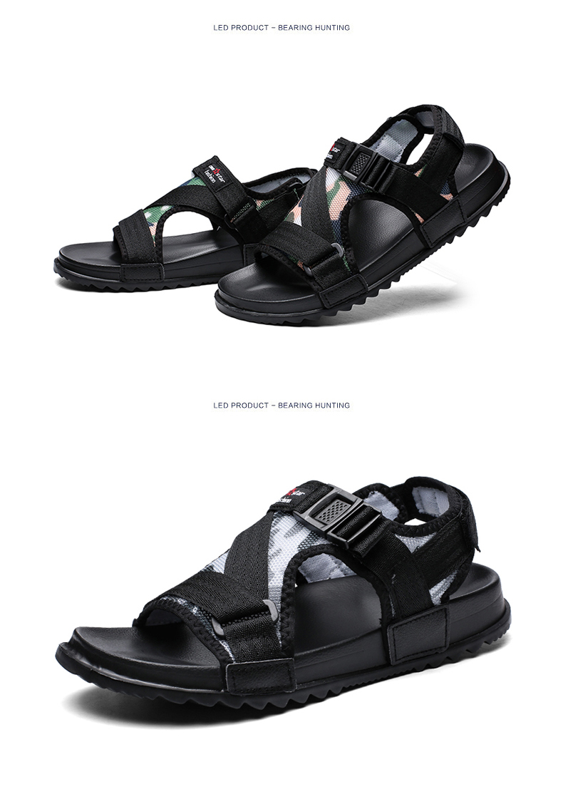 Slippers Men's Sandals Men's Summer Men's Sandals And Slippers Non-slip Beach Fashion Outdoor Wear Drag Trend 68 Online shopping Bangladesh