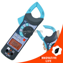 Digital Clamp Meter DC AC Voltage AC Current Resistance Diode Audible Continuity Temperature Diode Tester Tool(China)