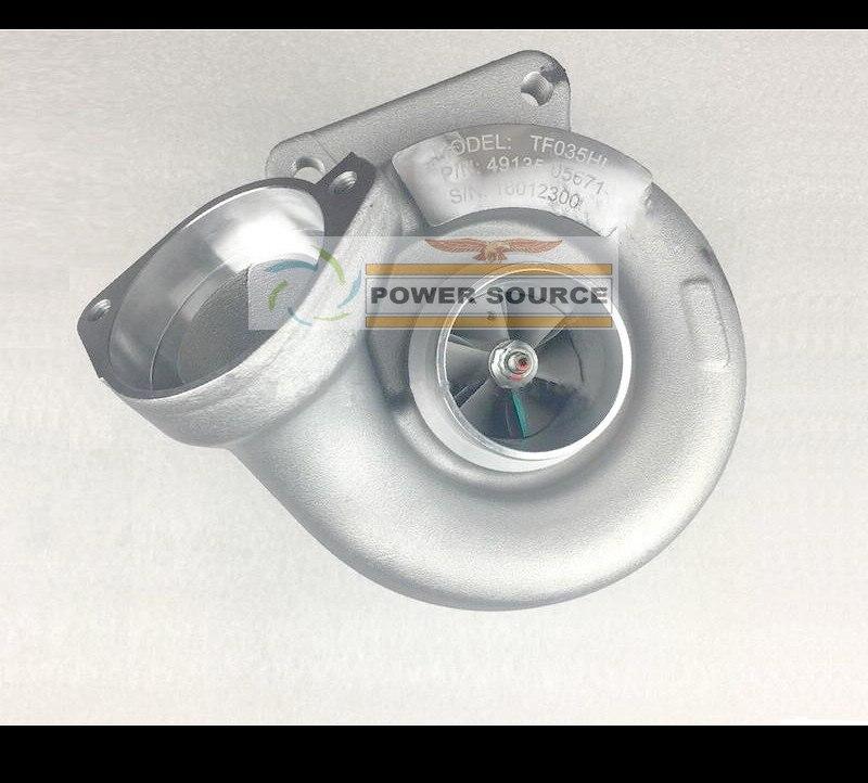 Turbo TF035H 49135-05671 49135-05610 NO Actuator Turbocharger For BMW 120D E87 04- 320D E90 E91 05- M sport M47TU 2.0L  (5)