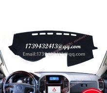 for Mitsubishi Montero Pajero 3 V77 V75 v73 2000 2001 2002 2003 2004 2005 2006 dashmats car-styling accessories dashboard cover