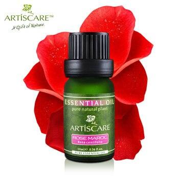 100% Natural Rosa Aceite Esencial 10 ml Hidratar y aceites de Masaje Hidratante Para Blanquear Cuidado de La Piel Facial Marruecos Puro aceite de Rosa