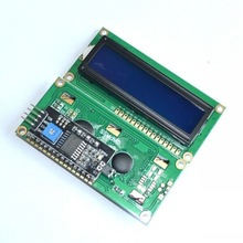 LCD1602+I2C LCD 1602 module Blue screen PCF8574 IIC/I2C for arduino LCD1602 Adapter plate(China)