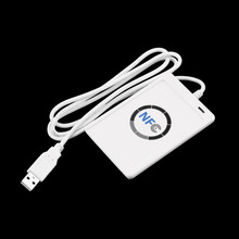 1pcs USB ACR122U NFC RFID Smart Card Reader Writer For all 4 types of NFC (ISO/IEC18092) Tags + 5pcs M1 Cards Hot Worldwide