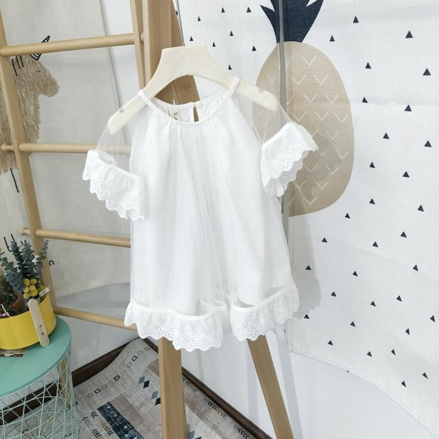 2019 New Arrival Summer Girls Volie Ruffles Dress Fashion Girls Dresses 2-7 Years