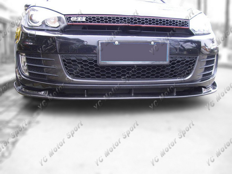 2009-2012 VW Golf MK6 GTI Type-2 Front Lip FRP (56)
