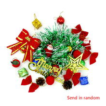 Christmas Tree Decoration 23pcs/pack Santa Decor Hanging Ornament Festival New Year Decor High quality