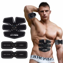 Upgrade EMS Muscles Training Device Smart Fitness Abdominal Exerciser Muscles Intensive Training Electric Slimming Massager(China)