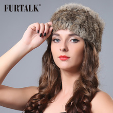 New arrival autumn and winter mult color women headwear hand knitted 44*12cm rabbit fur headband