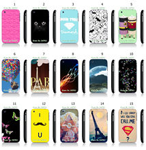 Cool Style Balloon Art Pattern White Hard Plastic Case Cover for iPhone 3 3GS