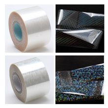 120m/roll Holographic Nail Foils Starry Sky Glitter Foils Nail Art Transfer Sticker Paper Nail Wraps DIY Accessories 10 Designs(China)