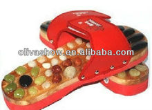 Hot Selling Oversea Massaging Slippers/ Babouche/chinela/baboosh(China)