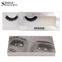 New 1 Pair makeup eye lashes handmade high quality false eyelashes natural eyelash extension fake lashes SP4