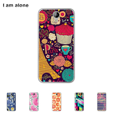 Case For HOMTOM HT3 HT 3 Pro Colorful Printing Drawing Transparent Plastic Mobile Phone Cover For HOMTOM HT3 Soft TPU Phone Case(China)