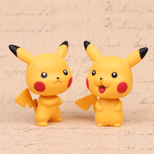 NEW hot 11cm Pikachu GO Shake your head action figure toys collection Christmas gift
