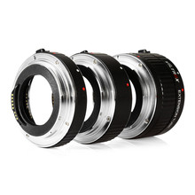 Lens Adapter Viltrox DG - C 12MM 20MM 36MM AF Auto Focus Metal Mount Macro Extension Tube Set for Canon EOS Series Camera(China)