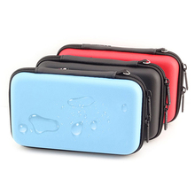 1PCS New Waterproof USB Cable Bag Organizer Hard Drive Earphone Flash Drives Digital Gadget Devices Organizador Bags