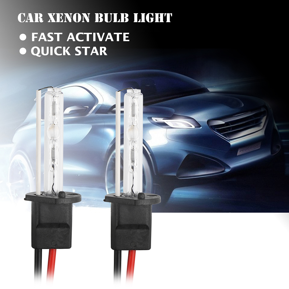 2pcs 55W H1 H4 H7 Car Xenon Bulb Light Ballast Conversion HID KIT Quick Activate Headlight DRL Fog Lamp Bulb 6000K DC 12V(China (Mainland))