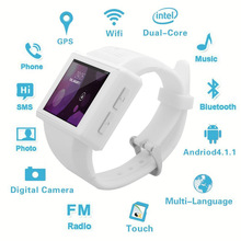 2017 New Android Smart Watch Mobile Phone Bluetooth 2.0'' Screen 2.0MP Camera WiFi GPS for iPhone Samsung HTC LG HuaWei Phones(China)