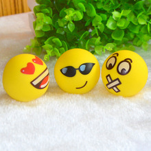 1PCS Cute Smile Face Anti Stress Reliever Ball Hand Massage Ball ADHD Autism Mood ToySqueeze Relief Reliever Ball Random(China)