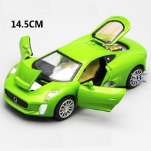 Alloy 14Cm Ja Cx-75 Model, high quality Car Model with music and light, Nice collection ,Die Cast Toys Car