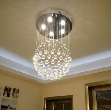 Modern Crystal Chandelier Lights 2016 Modern top Crystal for bed room living room dining room chandelier crystal Lighting<br><br>Aliexpress