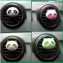 2016 car air freshener fragrances 100 originalautomobile air freshener perfume car styling Cute Panda Style 10,000 LB Rating