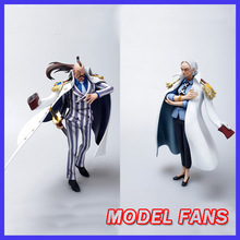 MODEL FANS IN-STOCK one piece POP scale Vice Admiral Momonga and Tsuru gk resin figure toy for collection