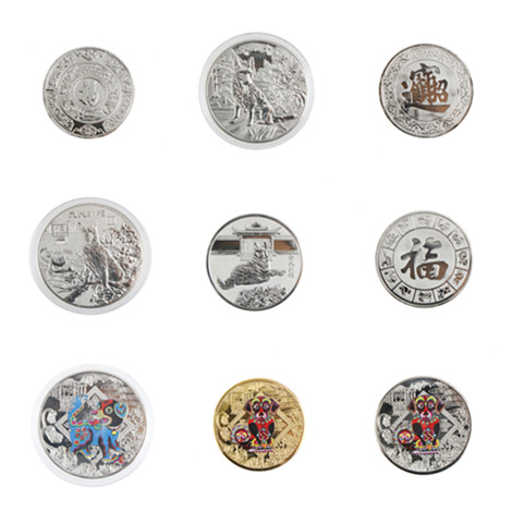 1pc Non-currency Commemorative Coins Gold/Silver Plated Bitcoin Coin Collectible Gift Art Collection Drop Shipping Multistyle