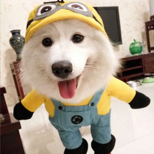 Funny Pet Dog Costume Halloween Suit Puppy Clothes Jacket Pet Coat Cotton Dog Costume Outfit For Dogs 39S1