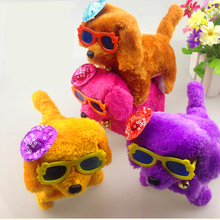 Lovely Walking Dog Toy Electronic Pets Toys Barking Dog Battery Powered Plush Electronic toys Children Baby Kids Gifts