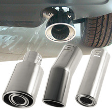 New 51*140mm Stainless Steel Exhaust Pipe Car Exhaust Muffler for 1.0-1.3L Displacement High Quality