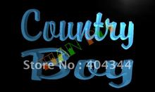 LB467- Country Boy Display LED Neon Light Sign(China)
