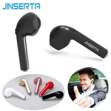 Buy JINSERTA 1 Piece I7 Bluetooth Earbud Wireless Invisible Mic Stereo bluetooth Earphone Iphone Android for $6.52 in AliExpress store