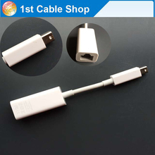 Free shipping&wholesale 1PCS/lot For apple Thunderbolt to Gigabit Ethernet Adapter Model A1433 emc 2590 white color
