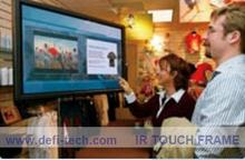 "DefiLabs Low-cost, 2 Touch points, 40"" IR(Infrared) Multi Touch screen Frame with USB port for touch panel, LCD and monitor(China)"