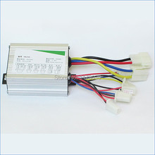 Electric tricycle controller,DC24V 500W brush motor controller,Applicable 24V 350-500W brush gear motor,Free Shipping J15217