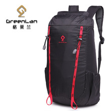 Light backpack ultra-light bag Nylon travel bag double-shoulder male female waterproof folding backpack