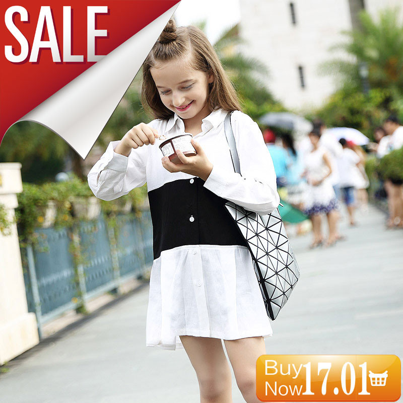 GEMTOT-In-The-Big-55Child-Shirt-2017-Autumn-Long-Sleeves-Lapel-Shirt-Black-and-White-Stitching