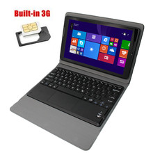 with keyboard case Intel Atom Z3735F ips Tablet PC windows8.1 10.1 inch 1G/16GB WIFI bluetooth HDMI Dual Cameras 3G Compatible