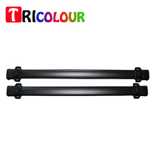 TRICOLOUR 2PC Car Roof Rack Cross Bar Luggage Carrier Aluminium+ABS For Jeep Compass Car Styling Accessory #LZ02(China)