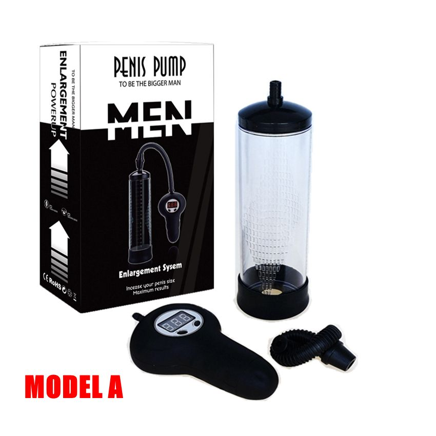 Male Free shipping Electric Penis Vacuum Pump Stretcher Automatic Stallion Gauge Enlarger Enhancer toys <br>