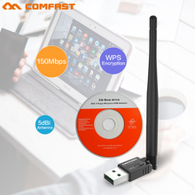 COMFAST 300mbps usb wi-fi adapter 802.11b/g/n RTL8192EU wireless Network dongle 5dBi wi fi antenna long range wifi CF-WU756P