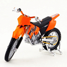 1/18 Maisto Mountain Bike Toy, Die cast Metal KTM 525SX Motorcycle, Simulation Car Models, Hot Toys, Brinquedos Adult Gift