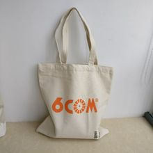 Wholesales 300pcs/lot Custom Cotton Canvas Eco Reusable Shopping Shoulder Bag Tote handbags Shopping Bags 35*40cm
