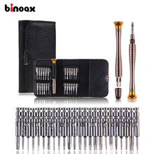 Binoax 25 in1 Precision Torx Screwdriver Repair Tool Set For iPhone Cellphone Notebook PC #W00278#(China)