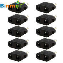 O New 10PCS US/AU to EU Travel Converter AC Power Plug Power Charger Adapter wholesale