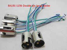BA15S 1156 1157 Lamp holder double pin