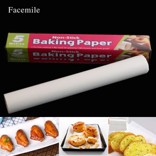 Facemile Tinfoil oilpaper Baking Paper Oven Baking Non Stick Kitchen For BBQ Oven Microwave Steamer Freezer Cooking Tool 55004