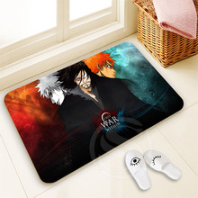 H-P258 Custom Bleach #5 Doormat Home Decor 100% Polyester Pattern Door mat Floor Mat foot pad SQ00722-@H0258(China)